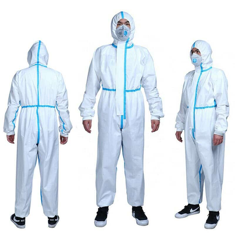 Hazmat Suits Reusable Coverall Earthuniforms